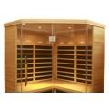Infrared Sauna S880 Corner in Hemlock