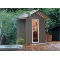 Patio Outdoor Sauna, 5 x 6