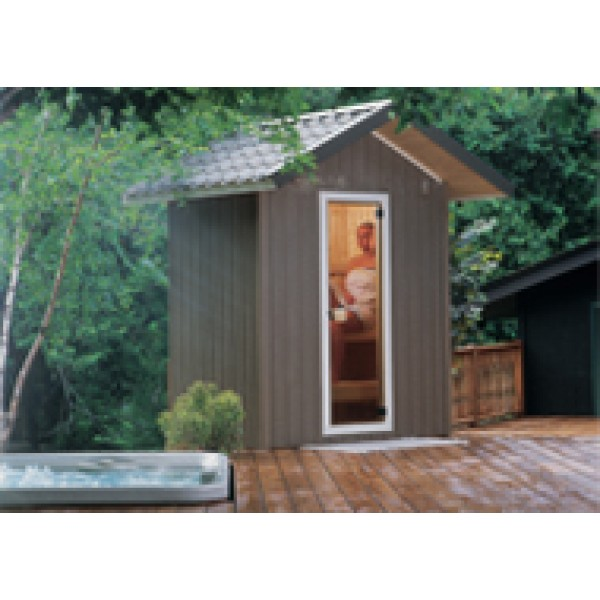 Patio Outdoor Sauna, 4 x 6