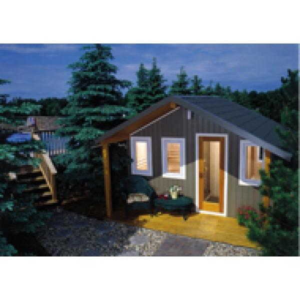 Suburban Outdoor Sauna, 8 x 12