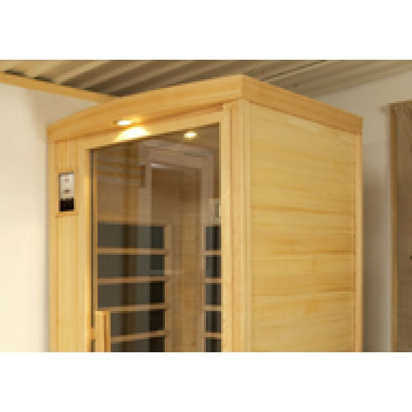 Infrared Sauna B100 in Hemlock