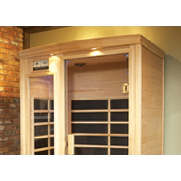 Infrared Sauna B200 in Hemlock