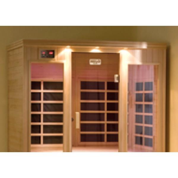 Infrared Sauna B300 in Hemlock