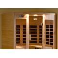 Infrared Sauna B400 in Hemlock