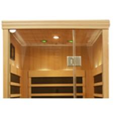 Infrared Sauna S810 in Hemlock
