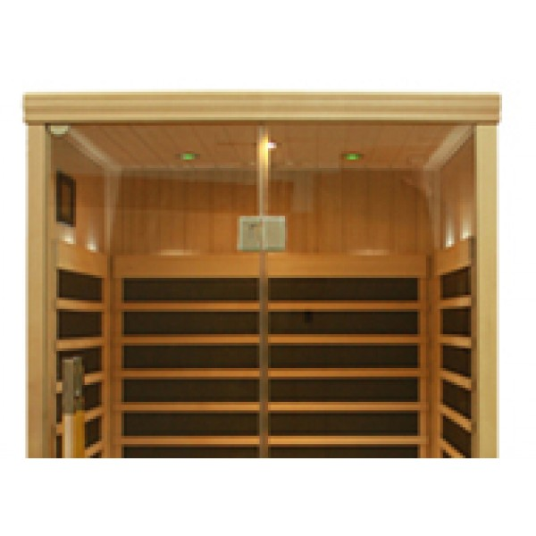 Infrared Sauna S820 in Hemlock