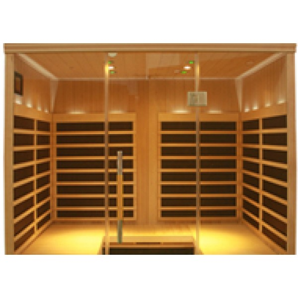 Infrared Sauna S840 in Hemlock
