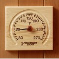 Thermometer with Carved Groove