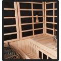 Panel Built Combo Sauna, 6 x 10 x 7