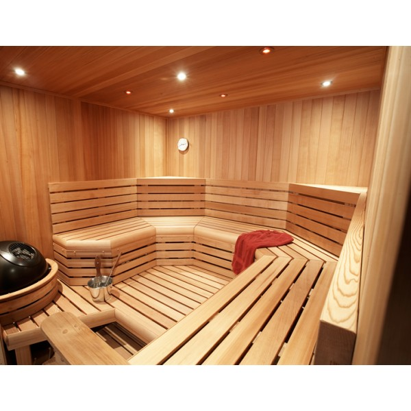 Custom Cut Sauna, 10 x 12 x 7, 14.4KW