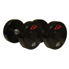 Uni-Lock Urethane Dumbbells, Set of 105-125 lbs