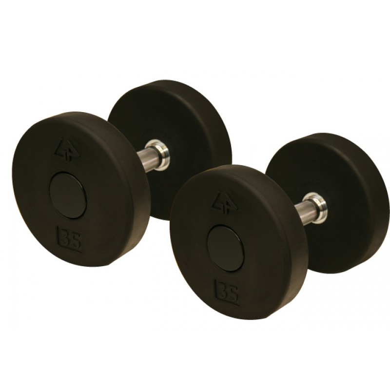 Powerblock Generator: Solid Head Rubber Pro Dumbbell, 10-75 Lb