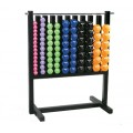 Aerobic Vinyl Coated Dumbbell Pac, Set of 43 Pairs