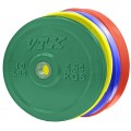 Solid Rubber Bumper Plate, 20 kg